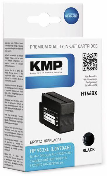 Tintenpatrone KMP H166BX, schwarz