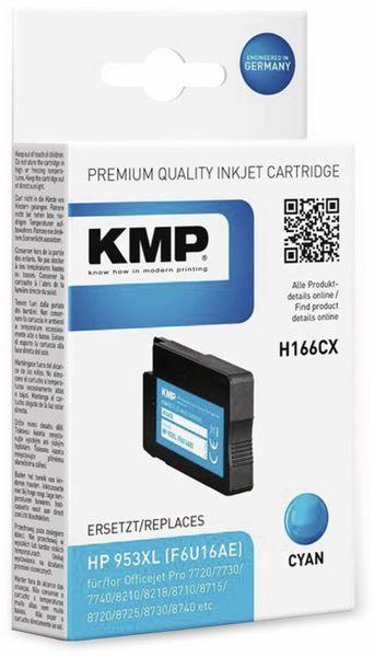 Tintenpatrone KMP H166CX, cyan