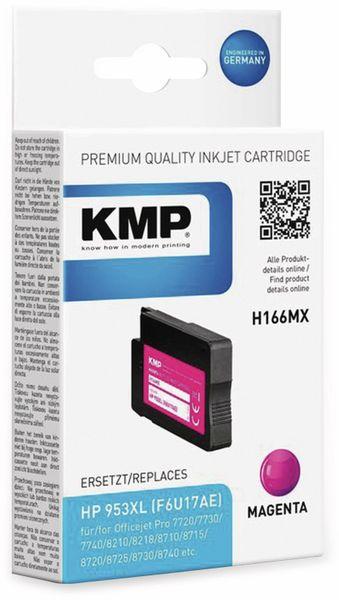 Tintenpatrone KMP H166MX, magenta