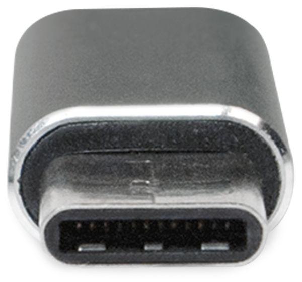 USB-Adapter LOGILINK AU0041, USB-C Stecker auf USB-Micro Kupplung - Produktbild 3