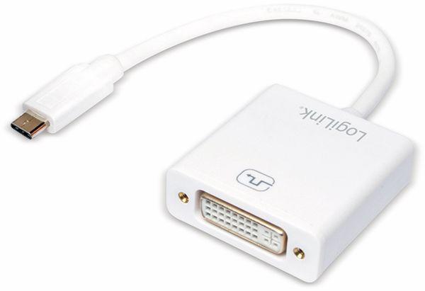 USB-C Adapter LOGILINK UA0246A, DVI