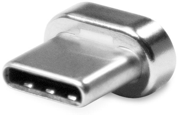 Magnetischer USB-C Stecker LOGILINK CU0119ADAP