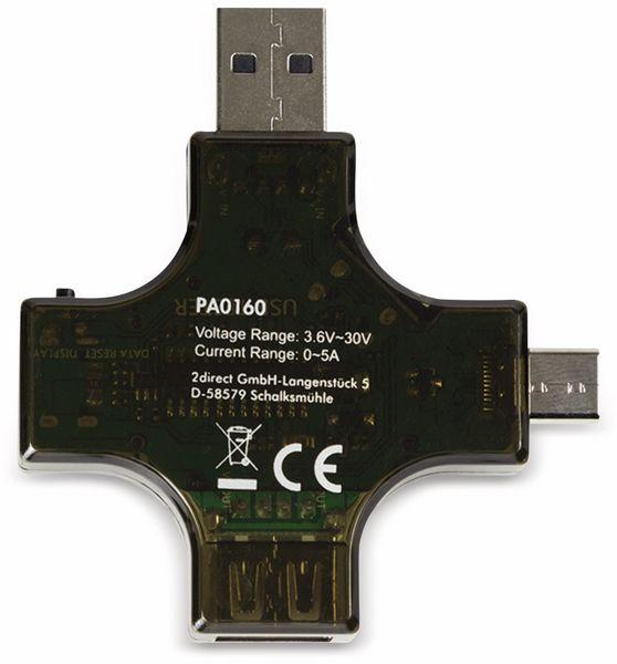 USB-Leistungsmessgerät LOGILINK PA0160, USB-C/USB-A/Micro-USB - Produktbild 5