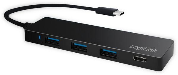 USB3.1 Typ-C Hub LOGILINK UA0311, 3x USB-A, 1x Typ-C