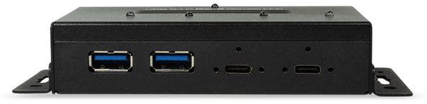 USB3.1 Industrie-Hub LOGILINK UA0316, 4-port, 2x Typ-C/2x USB-A - Produktbild 3