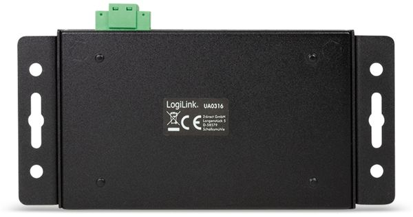 USB3.1 Industrie-Hub LOGILINK UA0316, 4-port, 2x Typ-C/2x USB-A - Produktbild 4