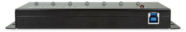 USB3.0 Industrie-Hub LOGILINK UA0317, 7-port, 7x USB-A - Produktbild 2