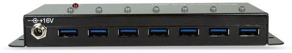 USB3.0 Industrie-Hub LOGILINK UA0317, 7-port, 7x USB-A - Produktbild 3