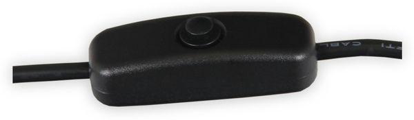 USB 2.0 A-Stecker auf Micro B Stecker mit Schalter, 1,5 m - Produktbild 2