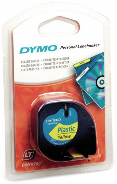 Beschriftungsband DYMO für LetraTag, schwarz auf gelb