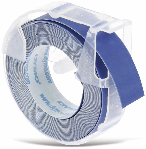 Prägeband DYMO, blau, 9 mm x 3 m