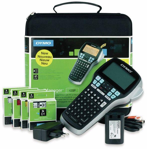 Beschriftungsgerät DYMO LabelManager 420P + Koffer