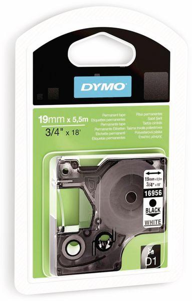 Beschriftungsband DYMO D1 für LabelManager, schwarz auf weiß, Polyester