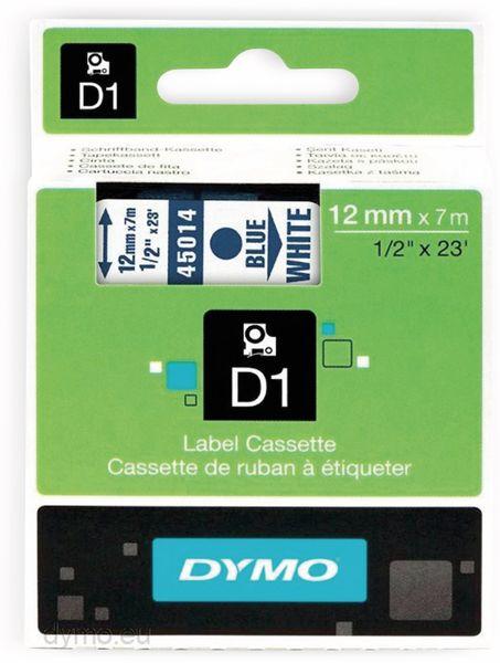 Beschriftungsband DYMO D1 für LabelManager, blau auf weiß, Standard