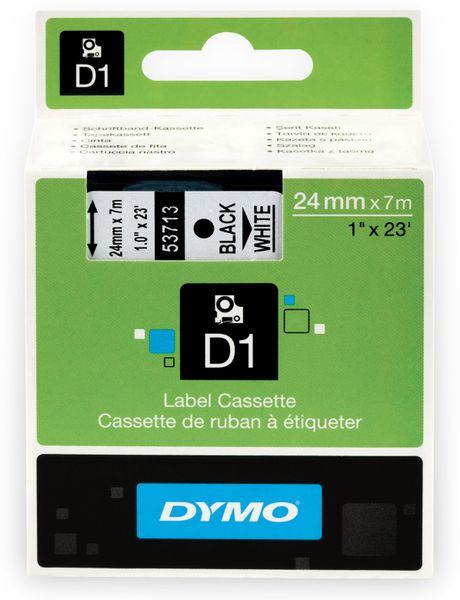 Beschriftungsband DYMO D1 für LabelManager, schwarz auf weiß, Standard