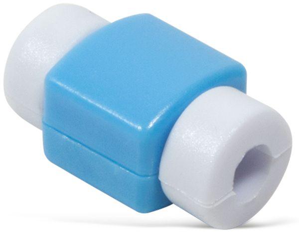 Knickschutz für USB-Kabel LOGILINK AA0091B, blau