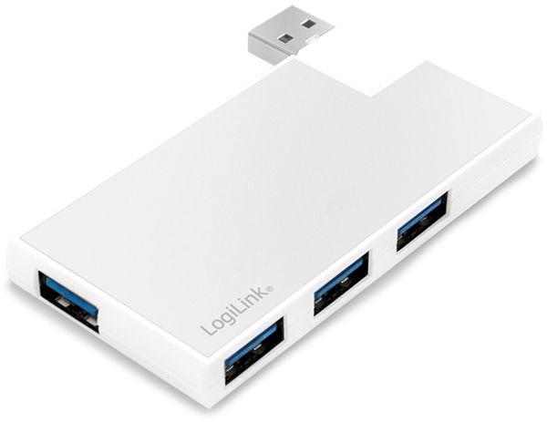 USB3.0 Hub LOGILINK UA0303, 4-port, 90°-180° drehbar