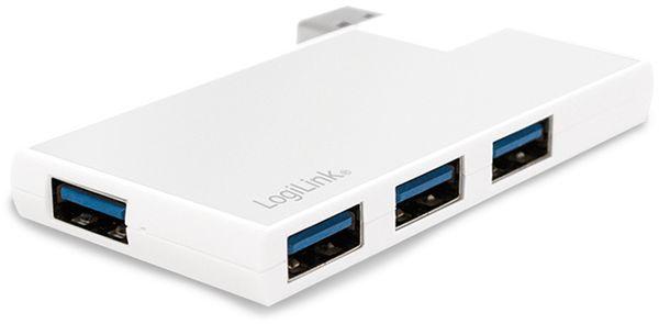 USB3.0 Hub LOGILINK UA0303, 4-port, 90°-180° drehbar - Produktbild 3