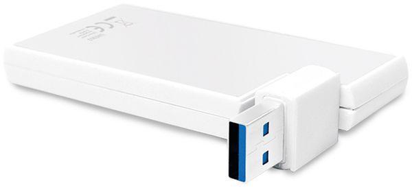 USB3.0 Hub LOGILINK UA0303, 4-port, 90°-180° drehbar - Produktbild 4