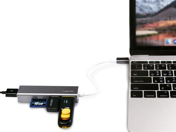 USB-C Hub LOGILINK UA0305, Kartenleser - Produktbild 3