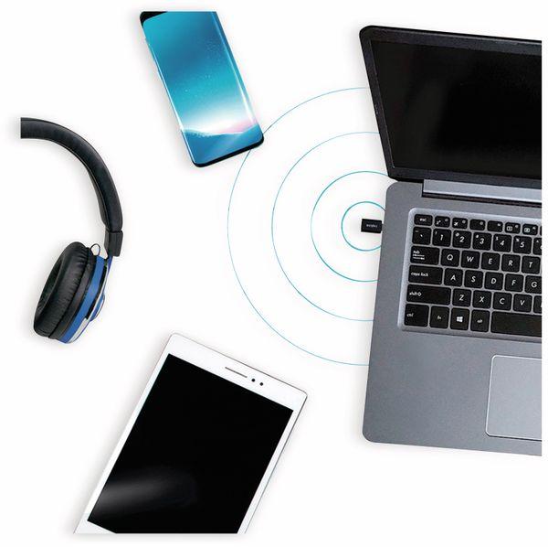 USB-C Bluetooth V4.0 Dongle LOGILINK BT0048, schwarz - Produktbild 6