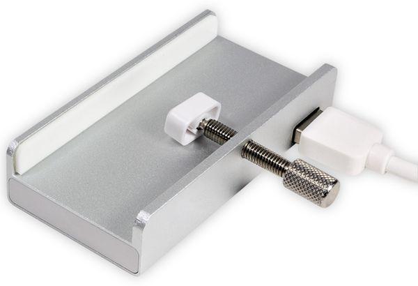 USB3.0-Hub LOGILINK UA0300, 4-port, Displaymontage - Produktbild 2