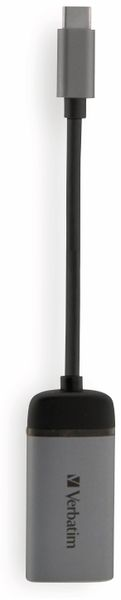 USB-C Adapter VERBATIM 49143, HDMI 4K, Slimline