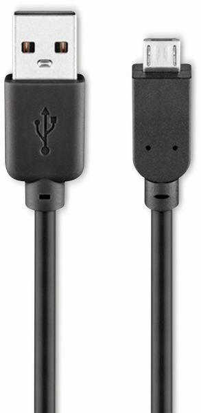 USB 2.0 Hi-Speed Anschlusskabel A/B, GOOBAY 93921, 5 m, schwarz