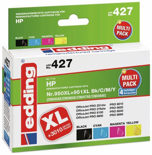 Tintenpatrone EDDING EDD-427, für HP 950XL/951XL (CN045/CN046/CN047/CN048), Multipack 4