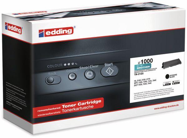 Toner EDDING EDD-1000, Brother TN-2120 black