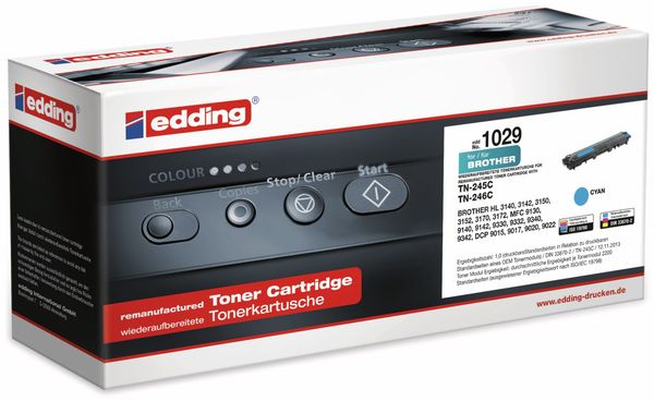 Toner EDDING EDD-1029, Brother TN-245C cyan