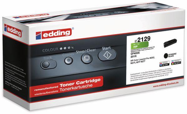 Toner EDDING EDD-2129, für HP CF400X Black