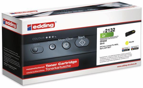 Toner EDDING EDD-2132, für HP CF402X Yellow