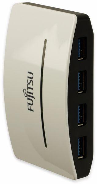 USB3.0 Hub, FUJITSU, 4-fach, weiß, Bulkware - Produktbild 2