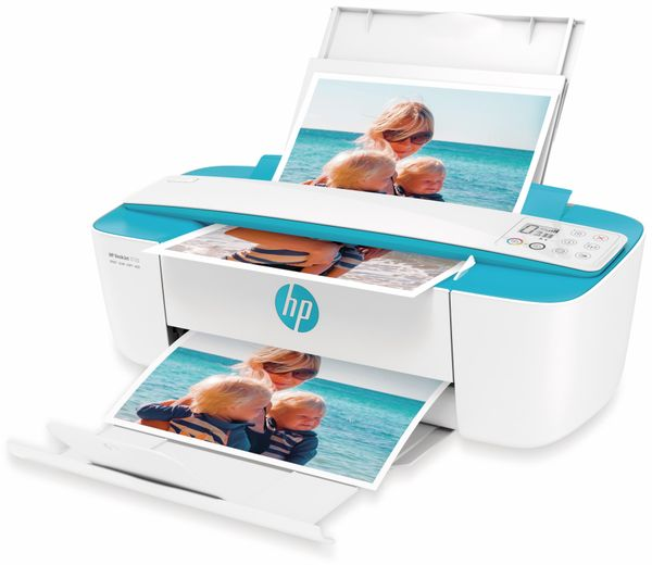 Drucker HP DeskJet 3750, USB, WiFi, All-in-One