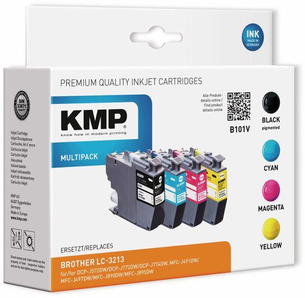 Tintenmultipack KMP B101V, ersetzt Brother LC3213VAL