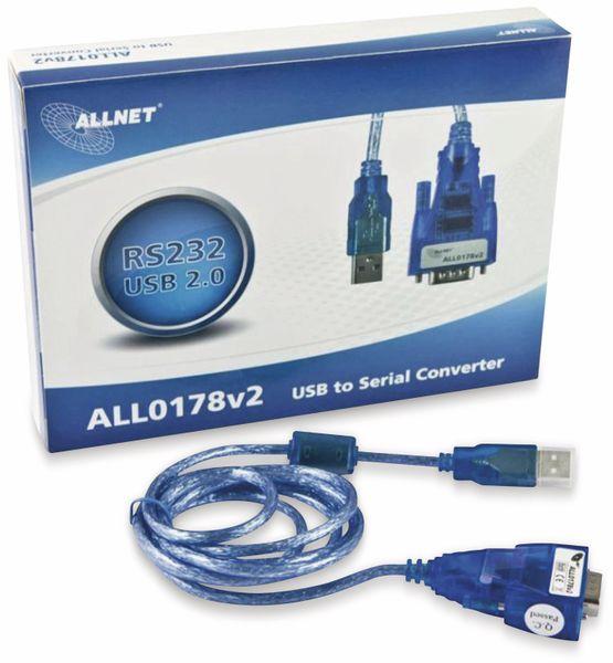 USB-Kabel auf Seriell ALLNET, RS422/485, 6 PIN Terminal Block - Produktbild 3