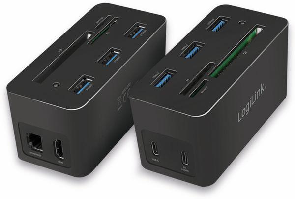 USB-Dockingstation LOGILINK UA0370, USB 3.2 Gen1 - Produktbild 2