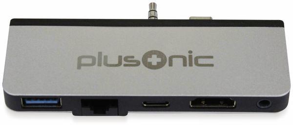 USB-C Adapter PLUSONIC PSUC0165, 5in1