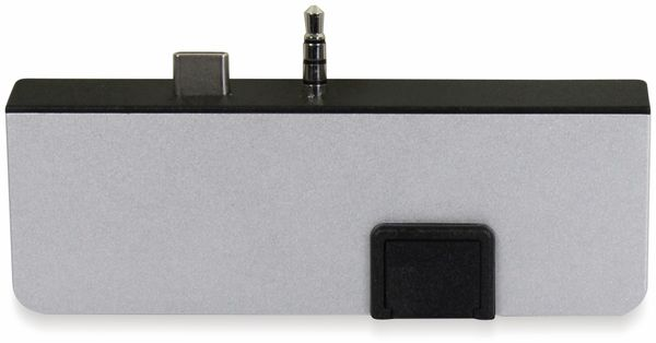 USB-C Adapter PLUSONIC PSUC0165, 5in1 - Produktbild 5