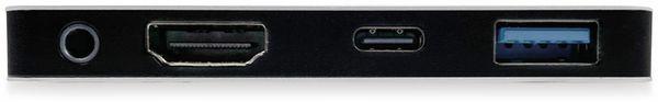 USB-C Adapter PLUSONIC PSUC0165, 5in1 - Produktbild 6