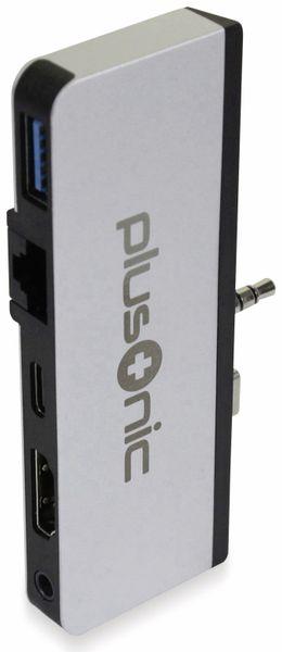 USB-C Adapter PLUSONIC PSUC0165, 5in1 - Produktbild 10