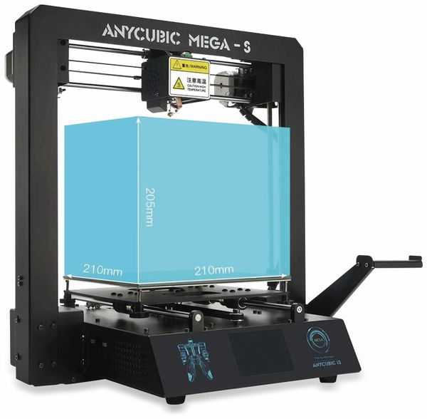 3D Drucker, Anycubic, I3 Mega-S Ultrabase Druckerbausatz - Produktbild 18