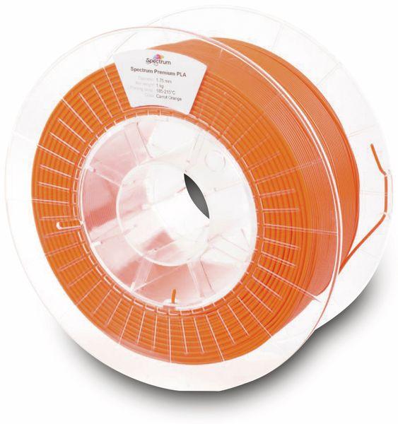 Spectrum 3D Filament PLA 1.75mm CARROT orange 1kg - Produktbild 2