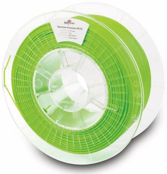 Spectrum 3D Filament PETG 1.75mm LIME grün 1kg - Produktbild 2
