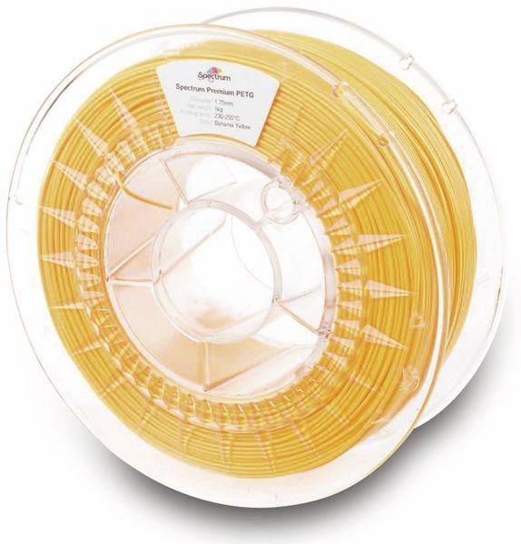 Spectrum 3D Filament PETG 1.75mm BAHAMA gelb 1kg - Produktbild 2