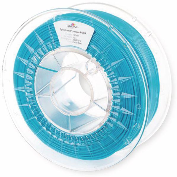 Spectrum 3D Filament PETG 1.75mm PACIFIC blau 1kg - Produktbild 2