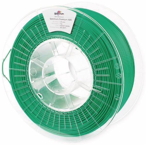 Spectrum 3D Filament smart ABS 1.75mm FOREST grün 1kg - Produktbild 2
