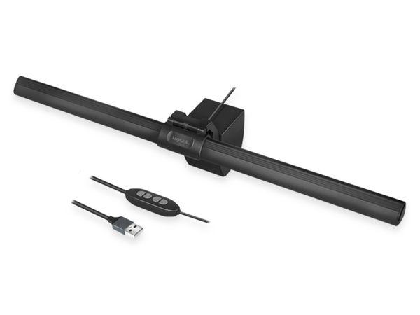 USB-LED Arbeitslampe LOGILINK UA0372, schwarz