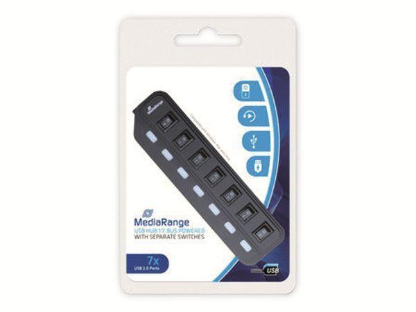 USB2.0 Hub MEDIARANGE MRCS504, 7-ports - Produktbild 3